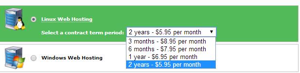 omnis hosting price